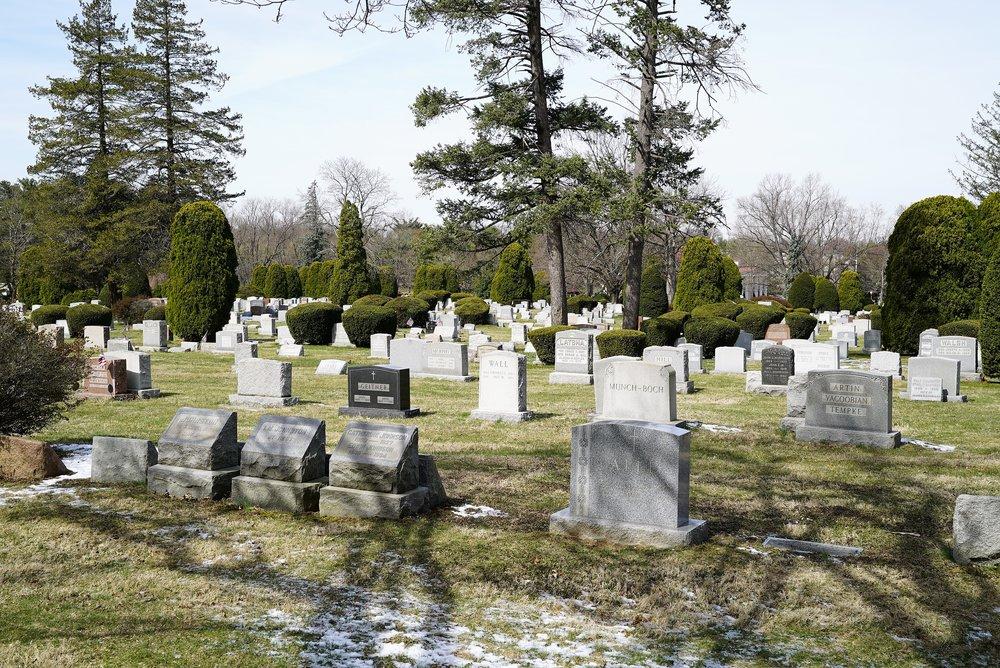 Photo: Arlington Cemetery, Drexel Hill, Pennsylvania. One of metropolitan Philadelphia's finest cemeteries.