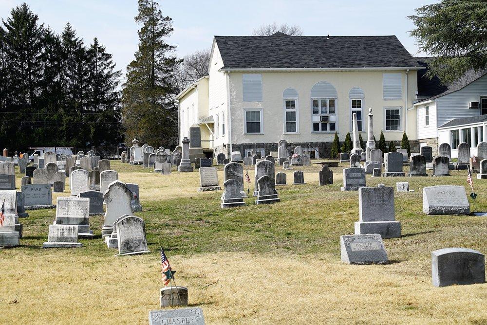 Photo: Marple Presbyterian Church Cemetery. Broomall, Pennsylvania.