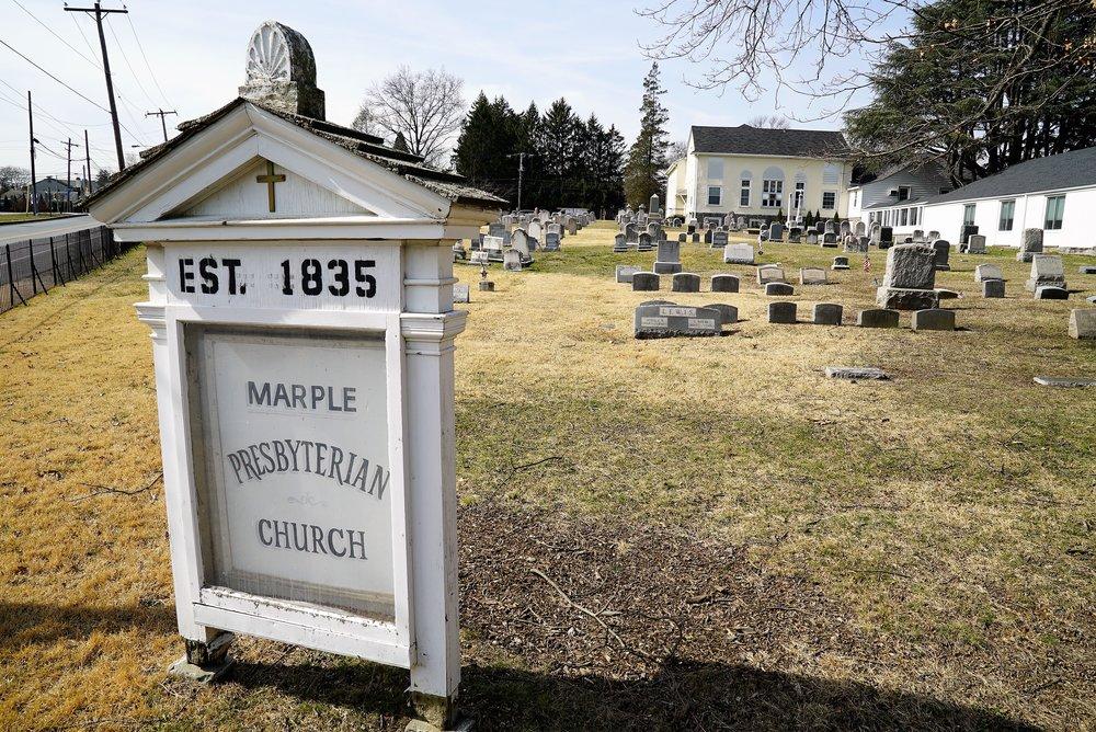 Photo: Marple Presbyterian Church Cemetery. Broomall, PA.