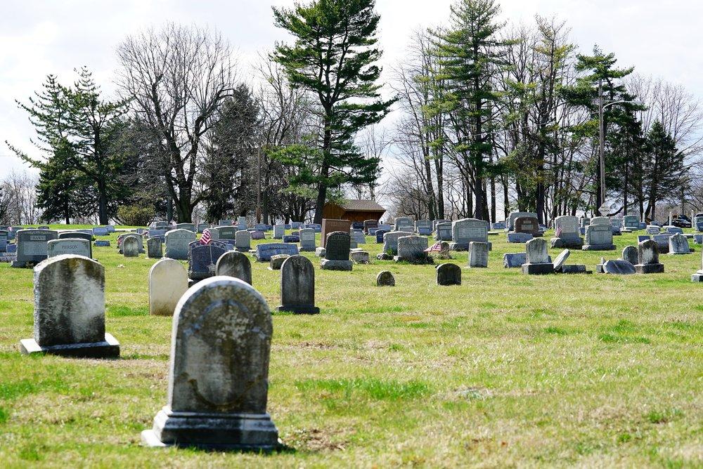 Bethlehem United Methodist Church Cemetery. Thornton, PA.