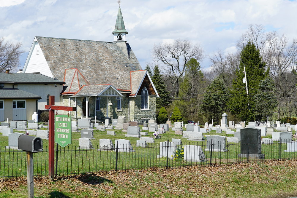 Bethlehem United Methodist Church Cemetery Thornton, PA.