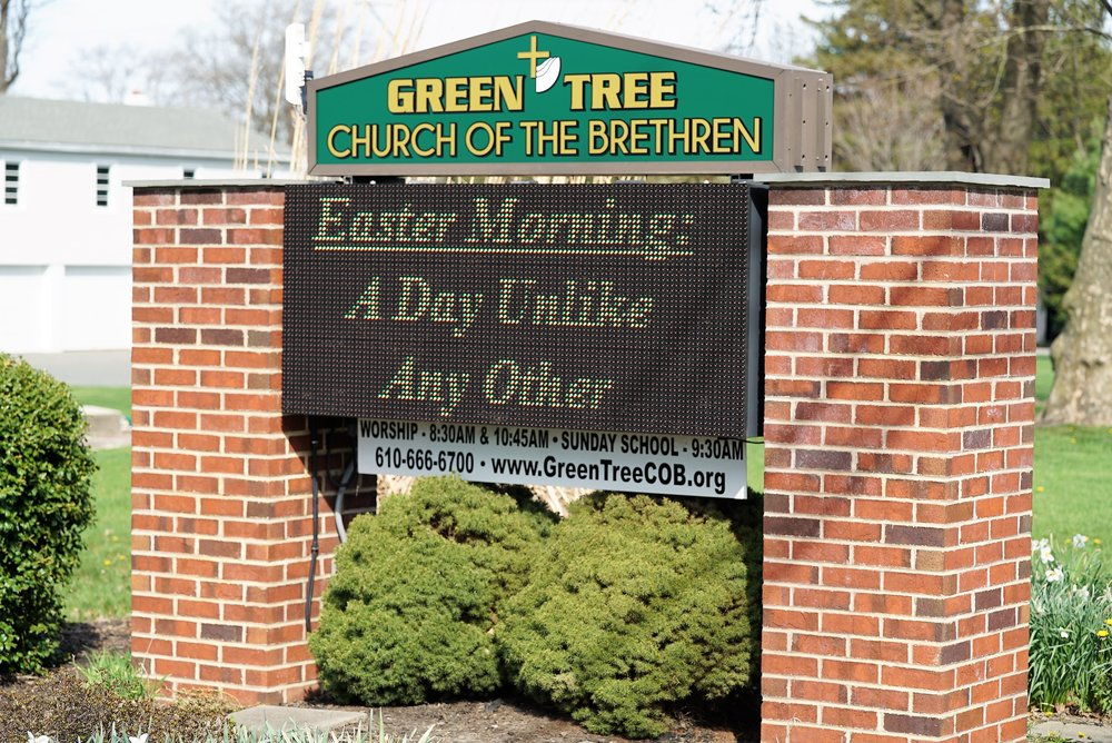 Green Tree Cemetery is operated by Green Tree Church Of The Brethen. Oaks, Pennsylvania.