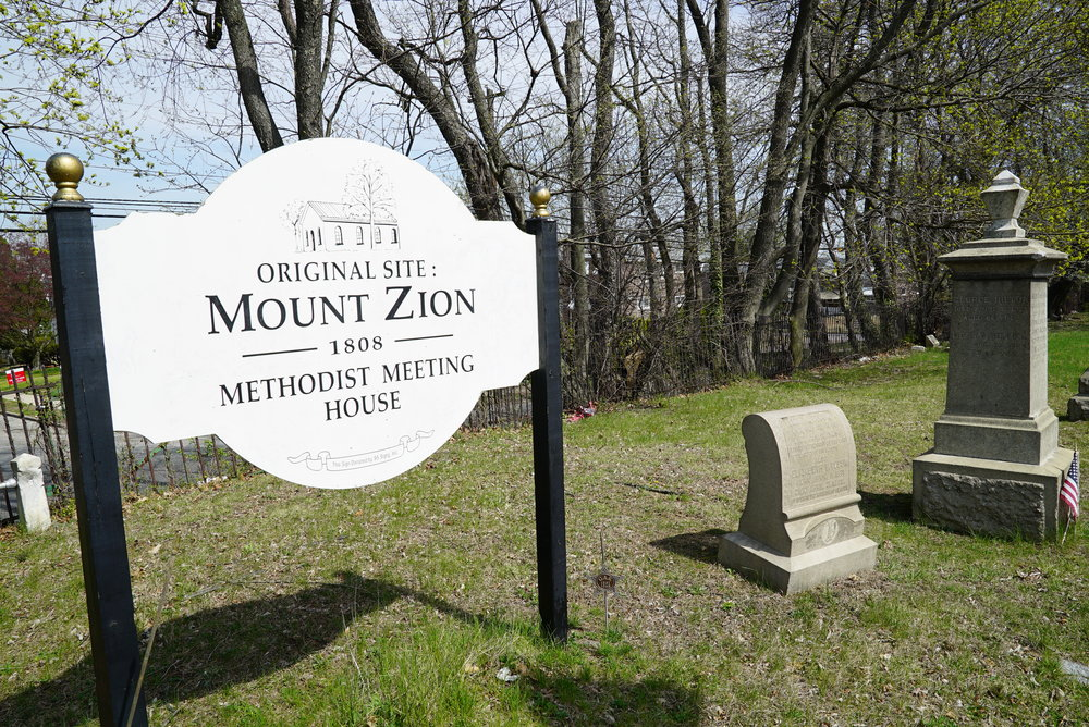 Darby Methodist Meeting Cemetery, also known as Mount Zion Methodist Meeting House. Collingdale, Pennsylvania.