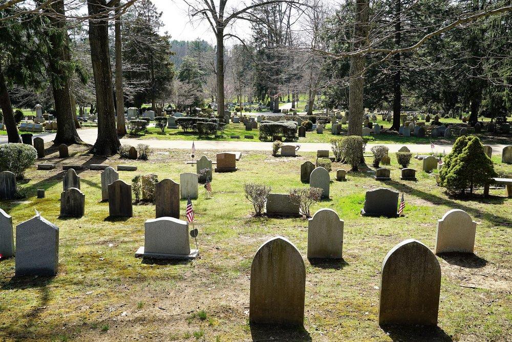 St. David's Episcopal Church Cemetery. Wayne, Pennsylvania.