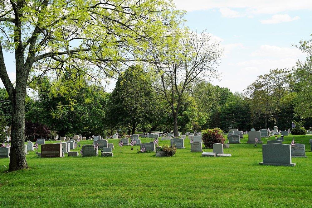 Nativity BVM Calvary Cemetery. Media, Pennsylvania.
