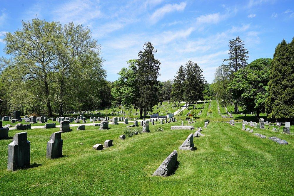 Great Valley Presbyterian Church Cemetery. Malvern, Pennsylvania.