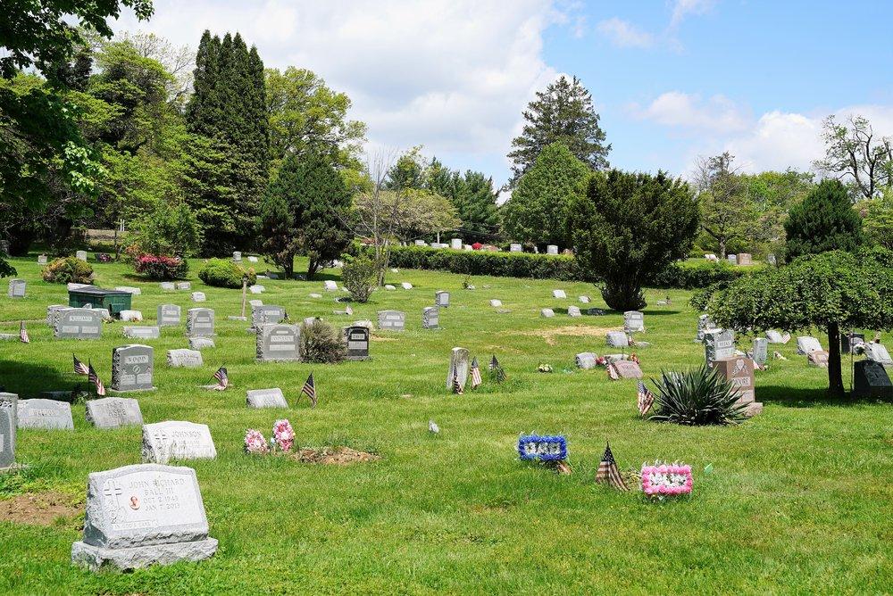 Rose Valley Cemetery. Ambler, Pennsylvania.