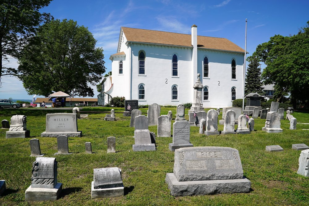 East Vincent United Church Of Christ Cemetery. Spring City, Pennsylvania.