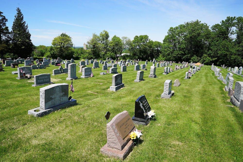 Holy Trinity Cemetery. Phoenixville, Pennsylvania.