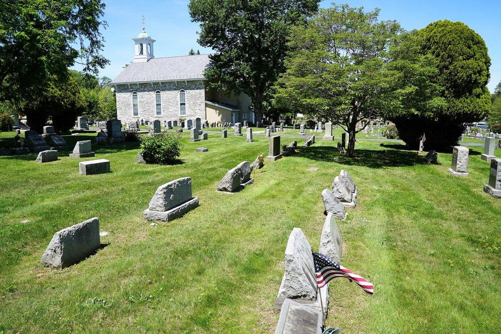 Baptist Church In The Great Valley. Devon, Pennsylvania.