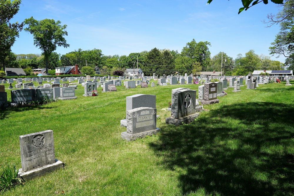 St. Monica Cemetery. Berwyn, Pennsylvania.