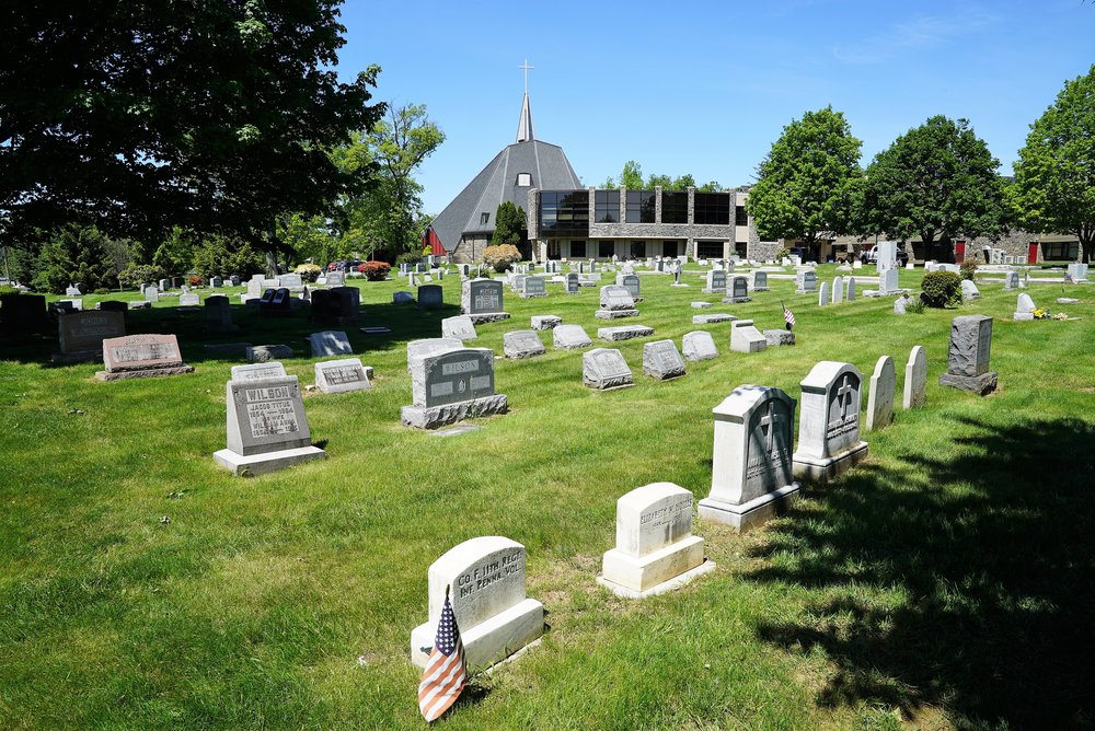 Church Of The Good Samaritan Cemetery. Paoli, Pennsylvania.