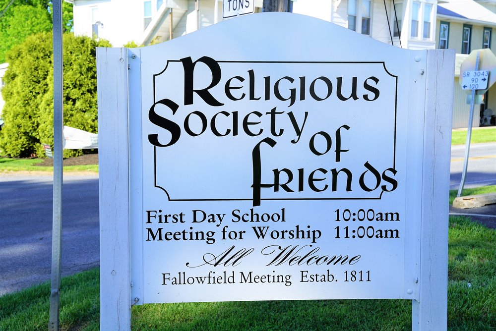 Religious Society Of Friends - Fallowfield Meeting Cemetery. East Fallowfield, Pennsylvania.