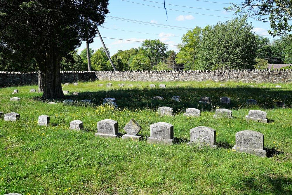 Fallowfield Orthodox Friends Burial Ground. Ercildoun, Pennsylvania.