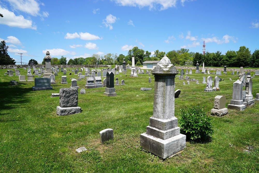 East Brandywine Baptist Church Cemetery. Downingtown, Pennsylvania.