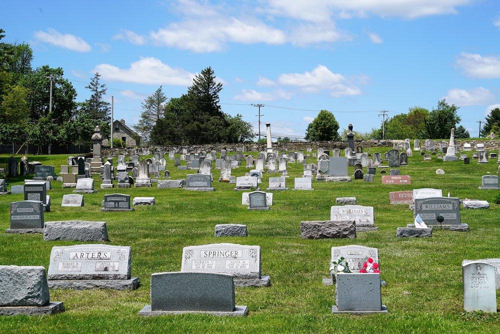 East Brandywine Baptist Church Cemetery. Dowingtown, Pennsylvania.