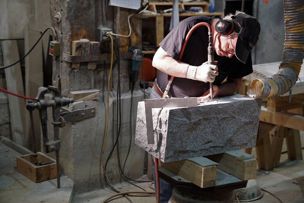 Learn more about ordering a headstone and what goes into the making of a stone  HERE.