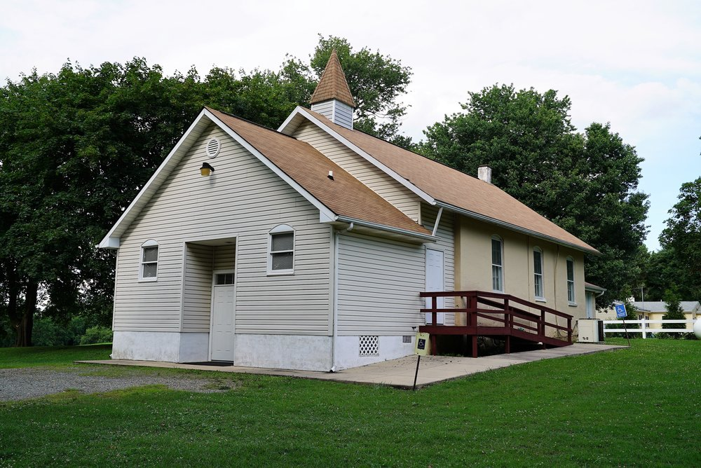 Auburn Church Regular Baptist. Landenberg, Pennsylvania.
