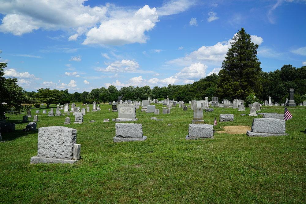 Kemblesville United Methodist Church Cemetery. Kemblesville, Pennsylvania.