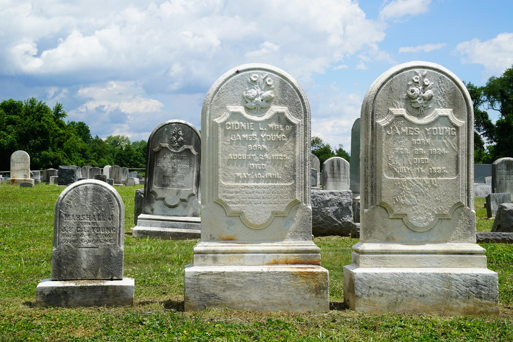 Bradford Cemetery. Located in the West Chester area of Chester County, Pennsylvania.
