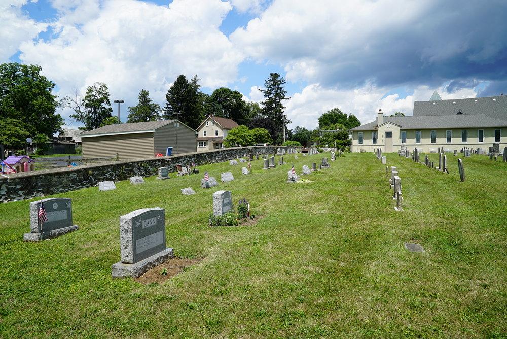 Marshallton United Methodist Church Cemetery. Marshallton, Pennsylvania.