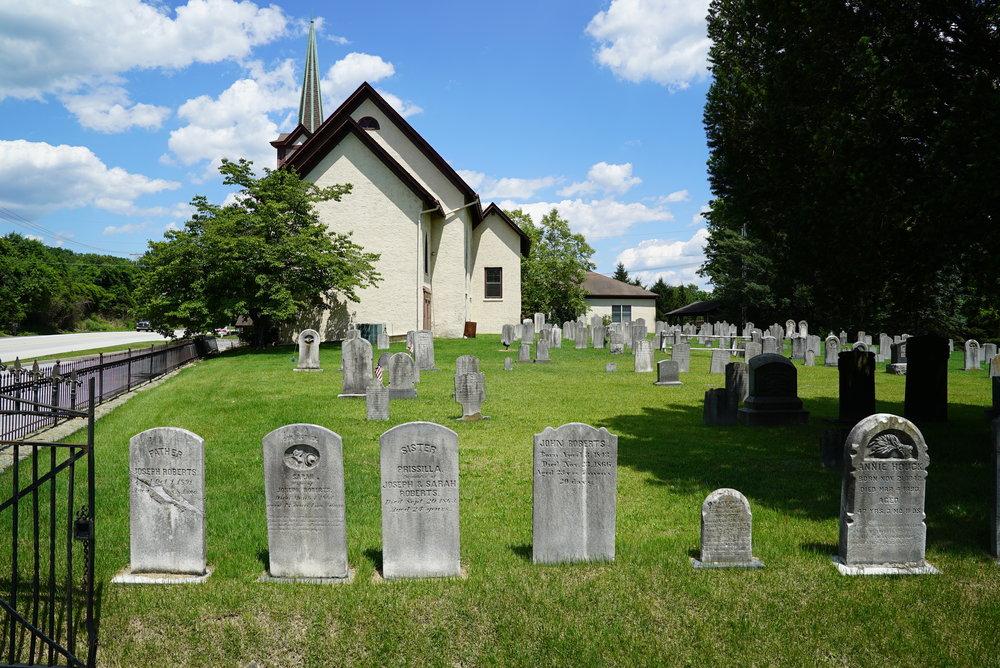 St. Peter United Church Of Christ. Knauertown, Pennsylvania.