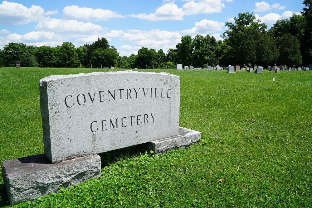 Coventryville Cemetery. Pottstown, Pennsylvania area.