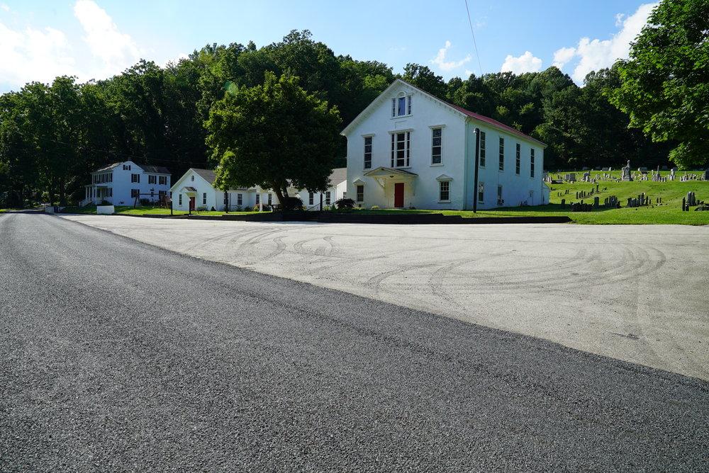Vincent Baptist Church Cemetery. Chester Springs, Pennsylvania.