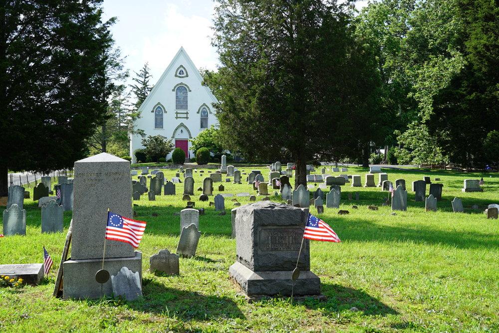 St. Peter's Lutheran Church. Chester Springs, Pennsylvania.