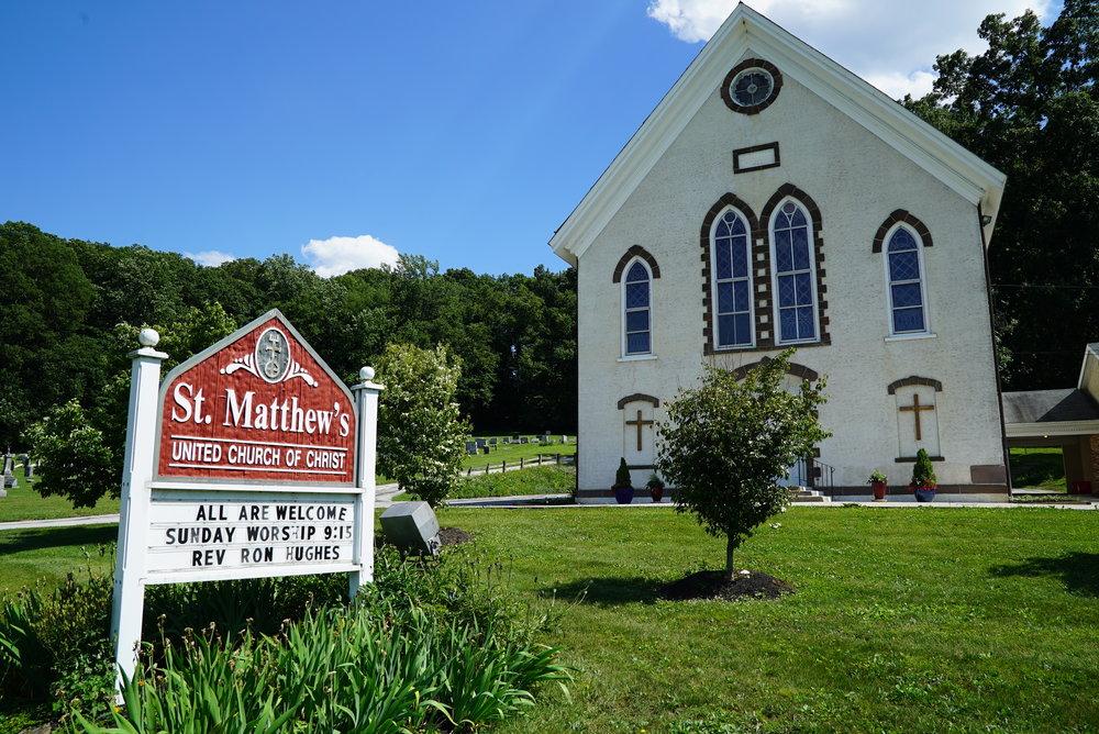St. Matthew's United Church Of Christ Cemetery. Chester Springs, Pennsylvania.