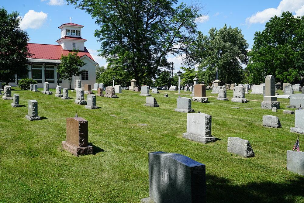 St. Andrew's Episcopal Church Cemetery. Glenmoore, Pennsylvania.
