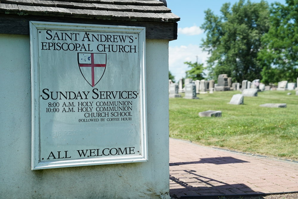 Saint Andrew's Episcopal Church Cemetery. Glenmoore, Pennsylvania.