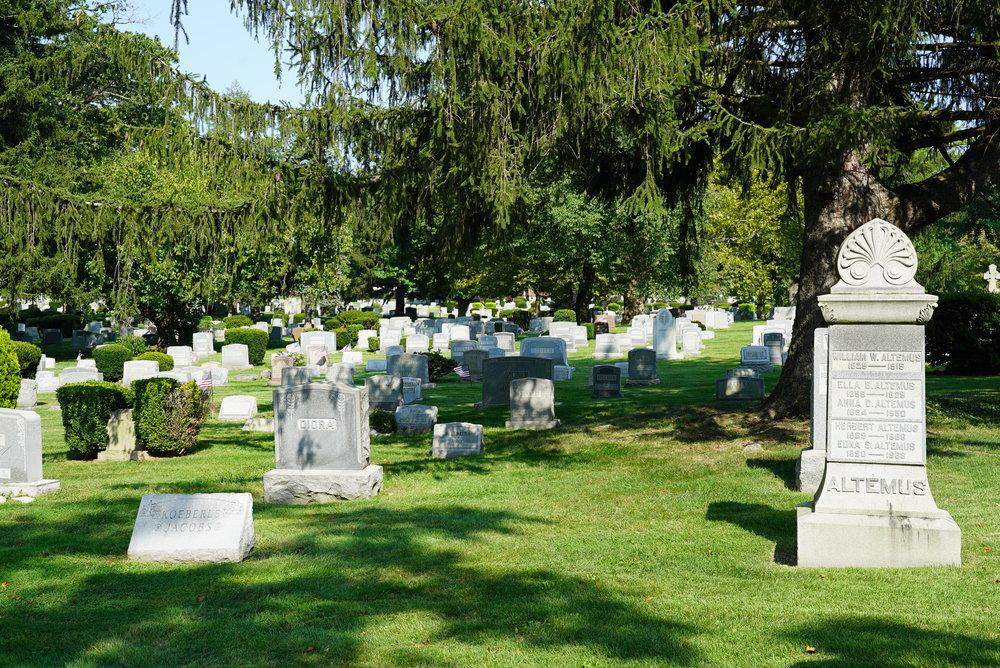 Lawnview Cemetery. Rockledge, Pennsylvania.