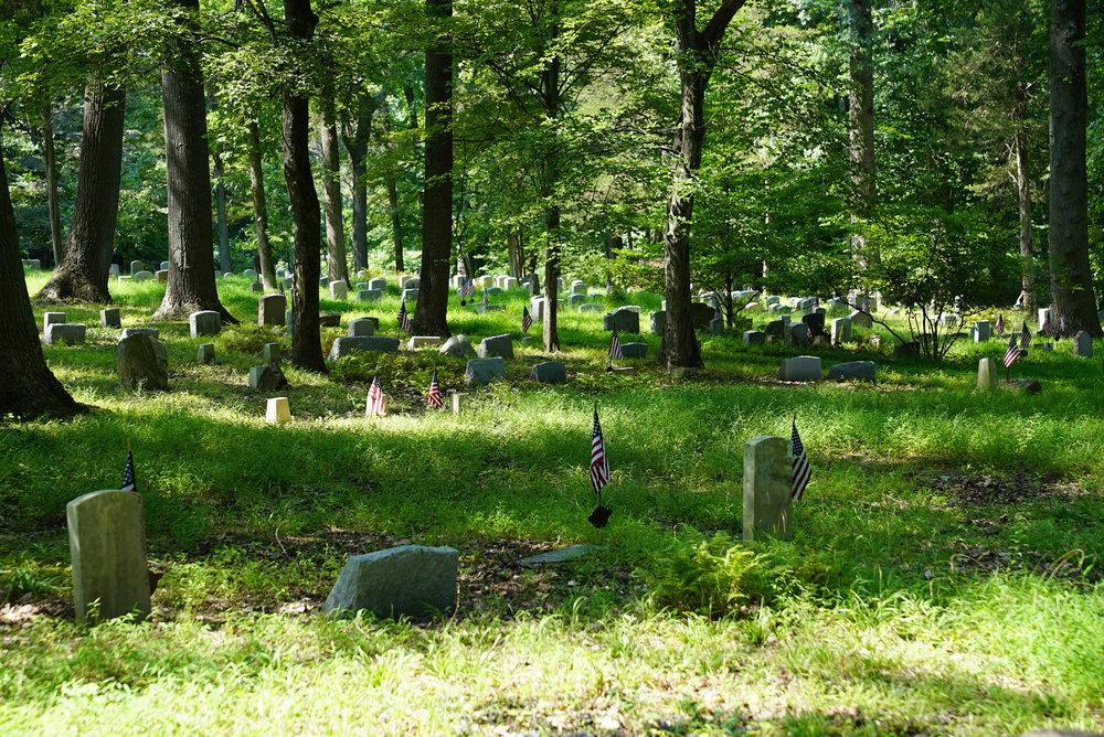 Bryn Athyn Church Cemetery. Bryn Athyn, Pennsylvania.