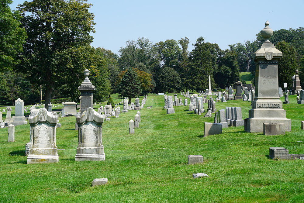 Union Cemetery of Whitemarsh at Saint Miriam. Flourtown, Pennsylvania.