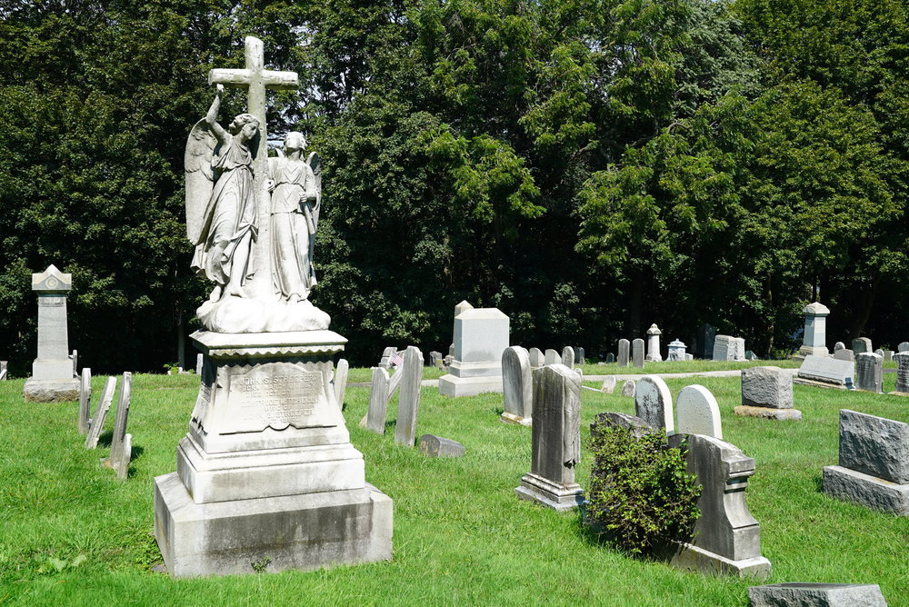 St. Peter's Lutheran Church Cemetery. Lafayette Hill, Pennsylvania.