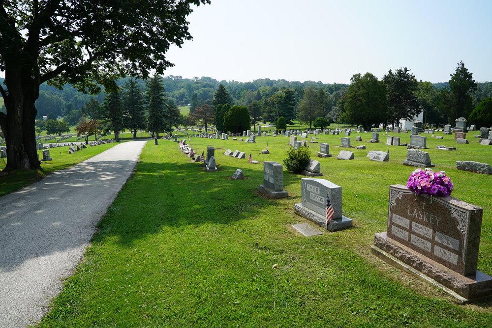 Gulph United Church of Christ Cemetery. Conshohocken, Pennsylvania.