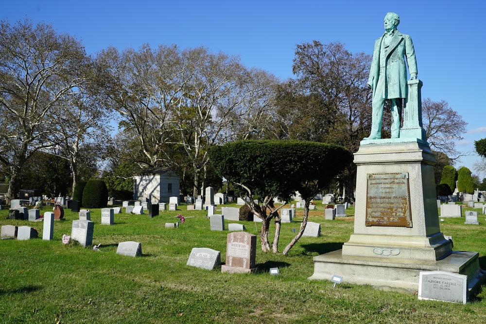 Mount Peace Cemetery. Philadelphia, Pennsylvania.