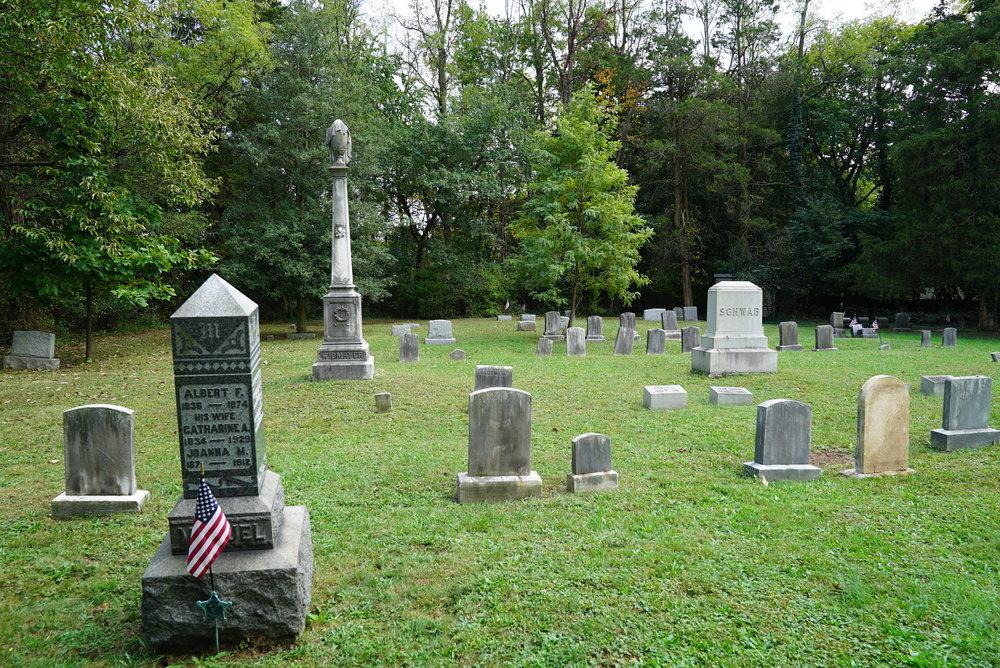 Orvilla Cemetery. Hatfield, Pennsylvania.