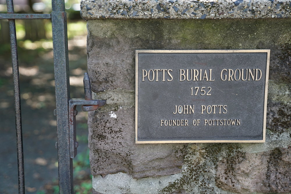 Potts Family Burial Ground. Pottstown, Pennsylvania.