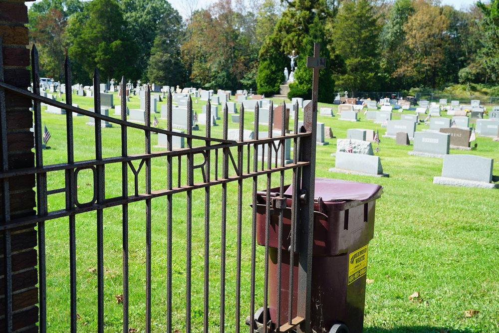 Holy Trinity Cemetery. Stowe, Pennsylvania.