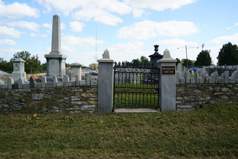 Henderson Family Cemetery. King Of Prussia, Pennsylvania.