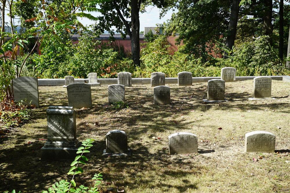 Jonathan Roberts Burial Ground. King Of Prussia, Pennsylvania.