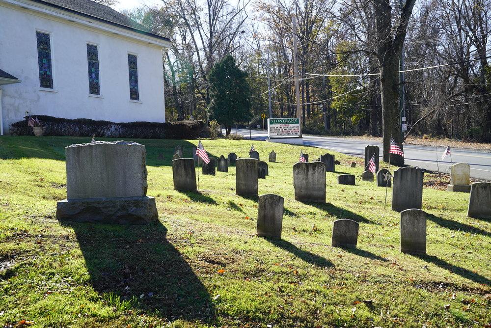 Stonybank Community Church Cemetery. Glen Mills, Pennsylvania.