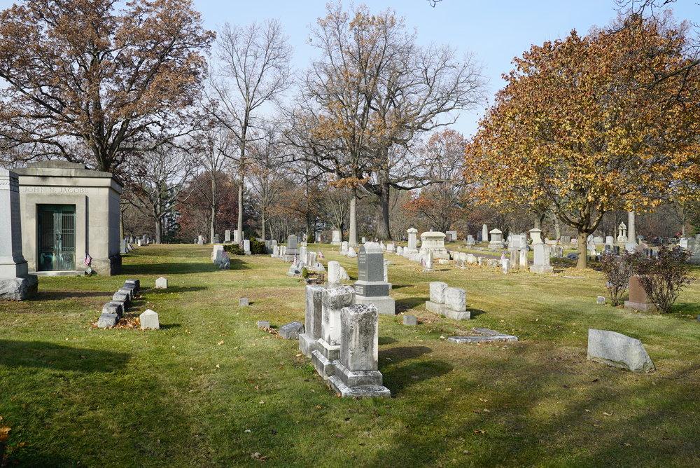 Doylestown Cemetery. Doylestown, Pennsylvania. December 2017.