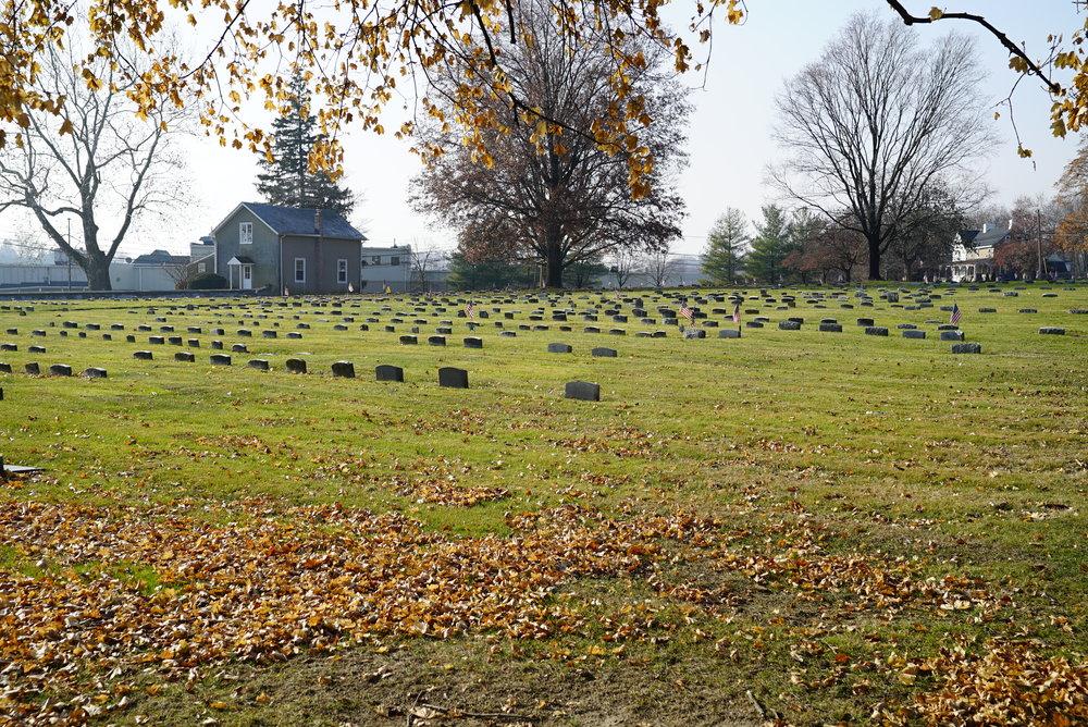 Horsham Friends Meeting Cemetery. Horsham, Pennsylvania.