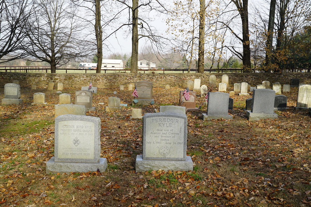 Fountainville Chapel Cemetery. New Britain Township, Pennsylvania.