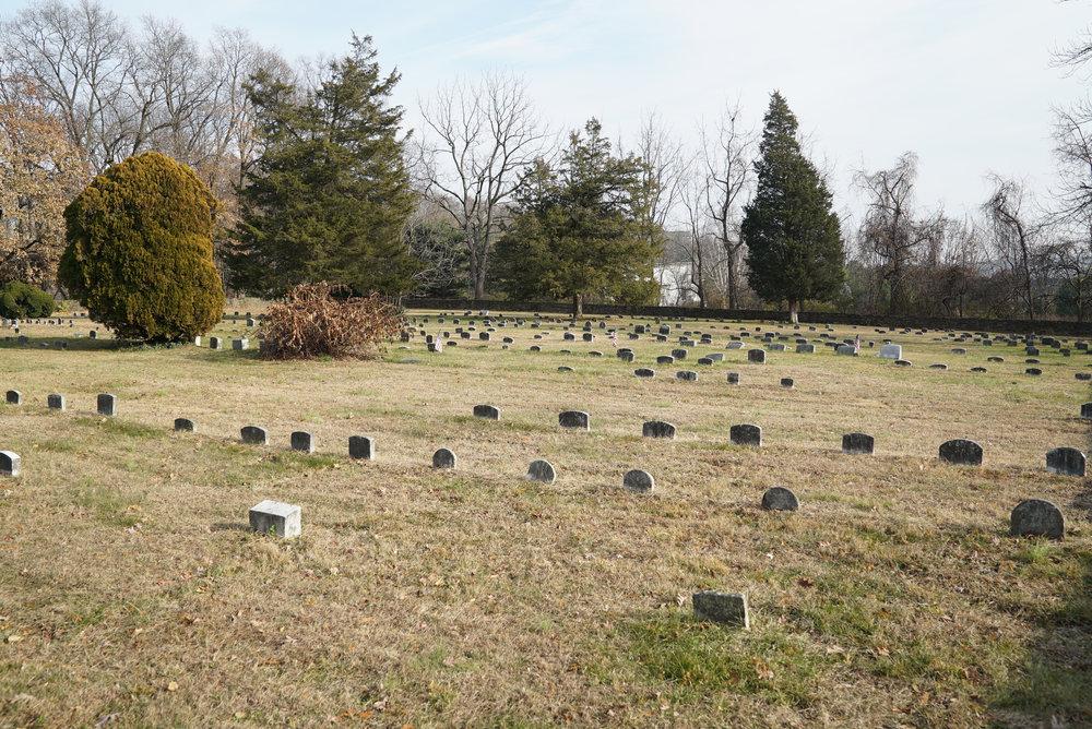 Plumstead Friends Meeting Cemetery. Plumstead Township, Pennsylvania. (Doylestown area.)