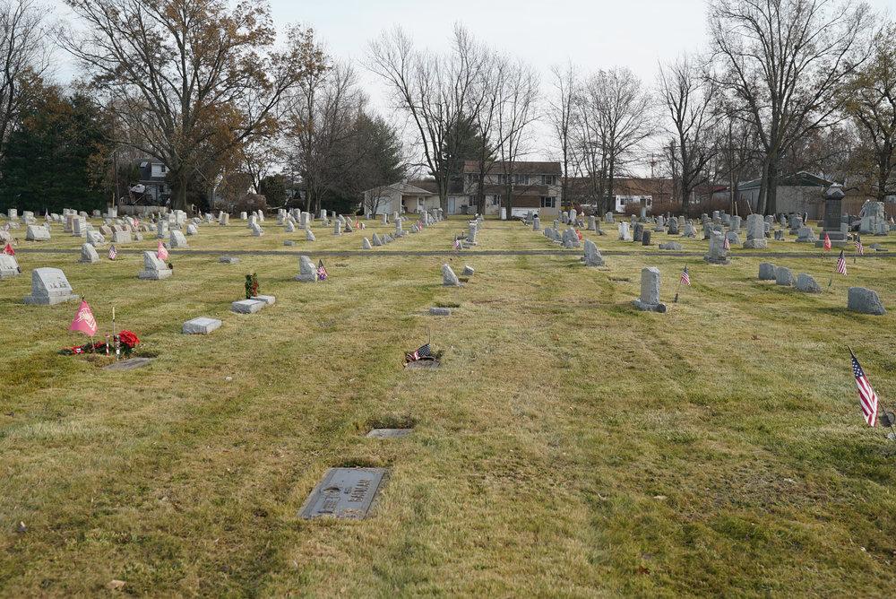 St. Luke's United Church of Christ Cemetery. Dublin, Pennsylvania.