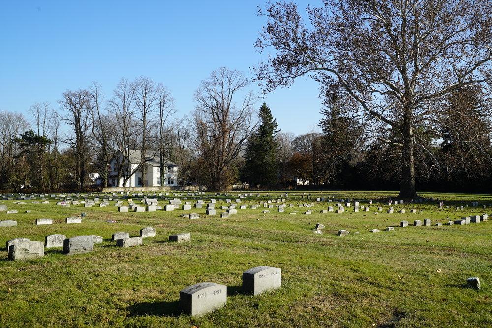Middletown Friends Meeting Cemetery. Langhorne, Pennsylvania area.